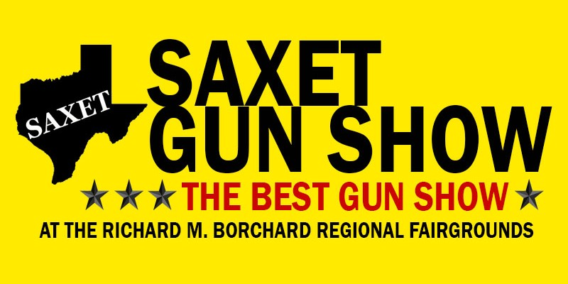 SAXET Gun Show coming to the Richard M. Borchard Regional Fairgrounds on April 24-25, 2021.