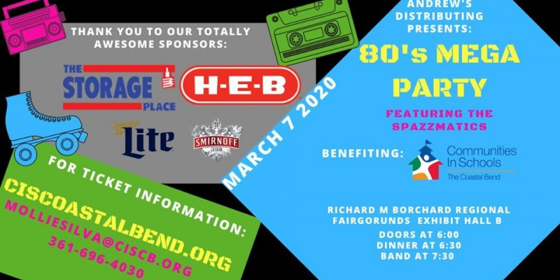 Andrew's Distributing Presents: The 10th Annual Mega 80's Party