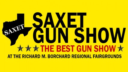 SAXET Gun Show coming to the Richard M. Borchard Regional Fairgrounds on November 13-14, 2021.
