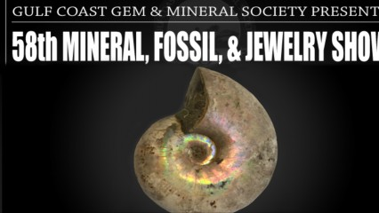 58th Mineral, Fossil, & Jewelry Show, Gulf Coast Gem and Mineral Show Robstown corpus christi